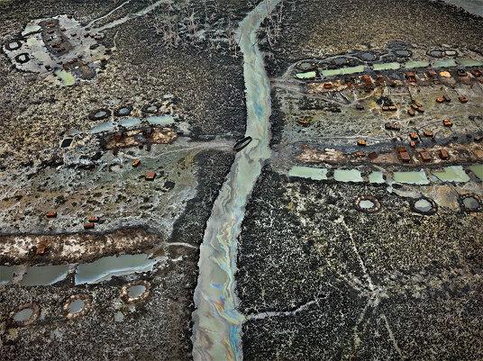 Жесть: 10 самых грязных туристических мест с высоты птичьего полета