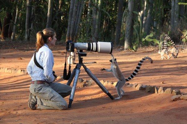Женщины в мире фотографии дикой природы