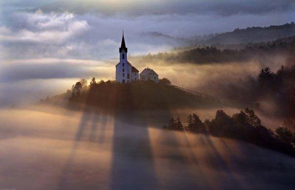 Туман— одно изсамых вдохновляющих явлений