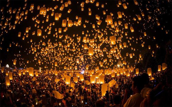 Самые красивые фестивали Земного шара