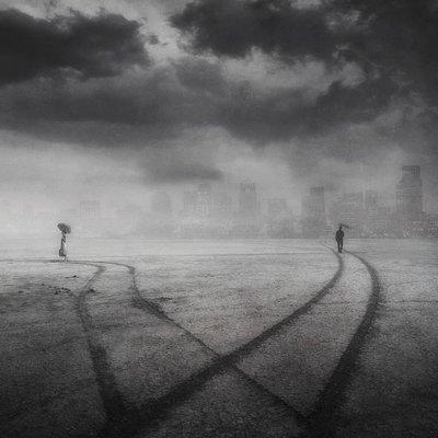 Фотоманипуляции Касии Дервинской