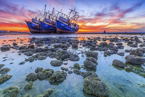 Фотографий покинутых кораблей