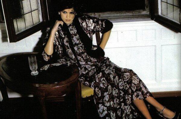 Модель Джиа Каранджи в фотографиях 1970-80-х годов