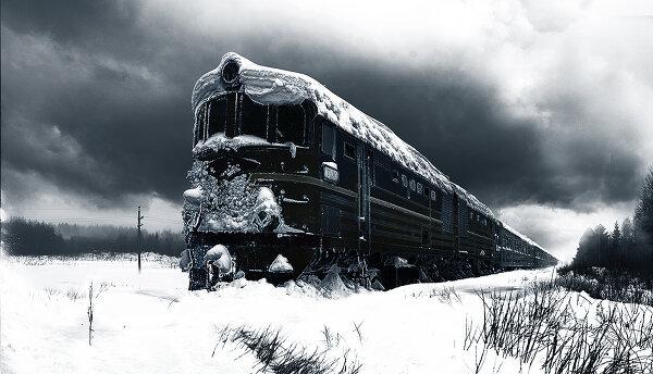 Забытый поезд.