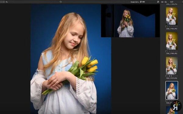 Видео мастер-класс по детской фотографии