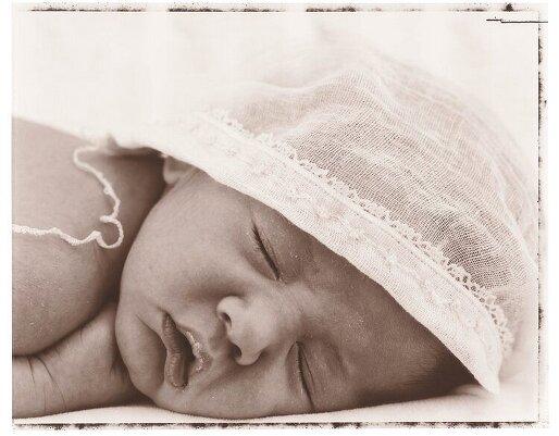 Как фотографировать новорождённого ребёнка?