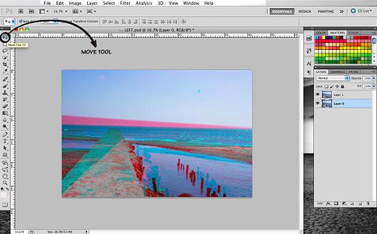 Как сделать 3d эффект photoshop