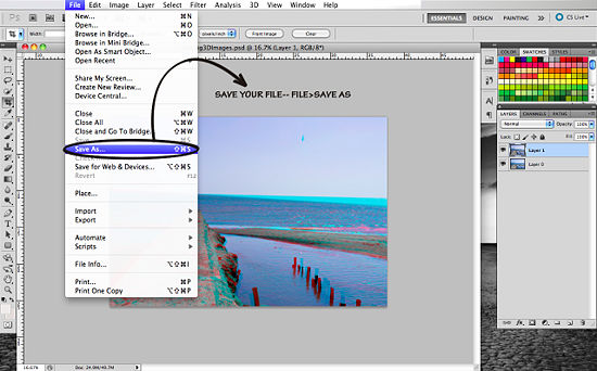 Как сделать из jpg в растровое