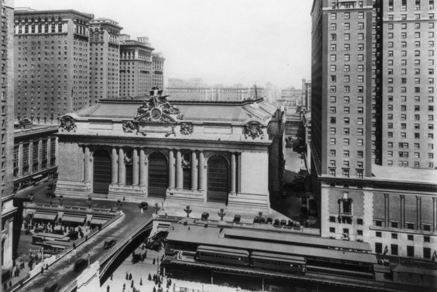Центральному вокзалу Нью-Йорка