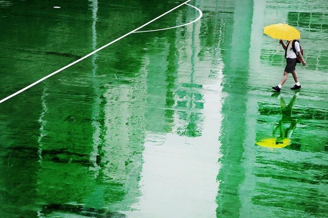 Дождливая погода не проблема для
