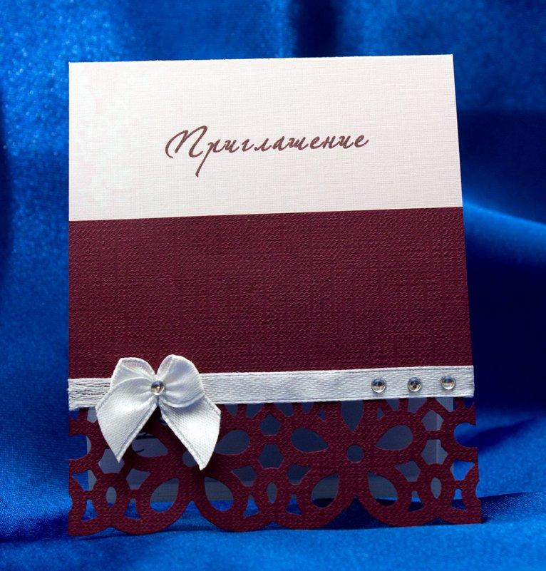 Простые свадебные открытки