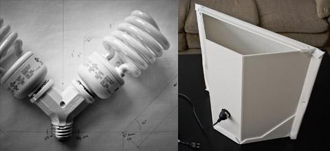 Софтбокс для ламп своими руками
