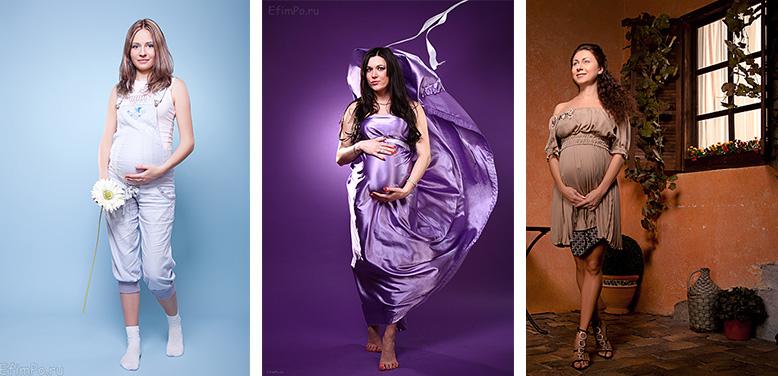Позы для съемки для беременных