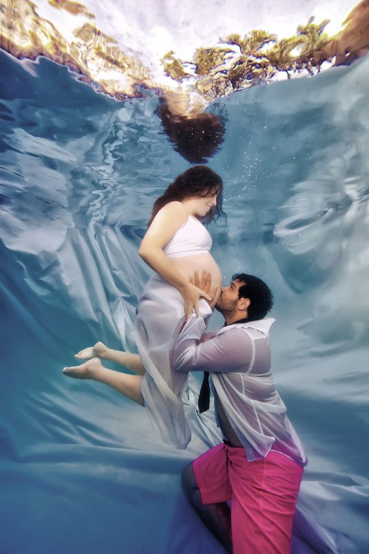 Фото беременных русалок