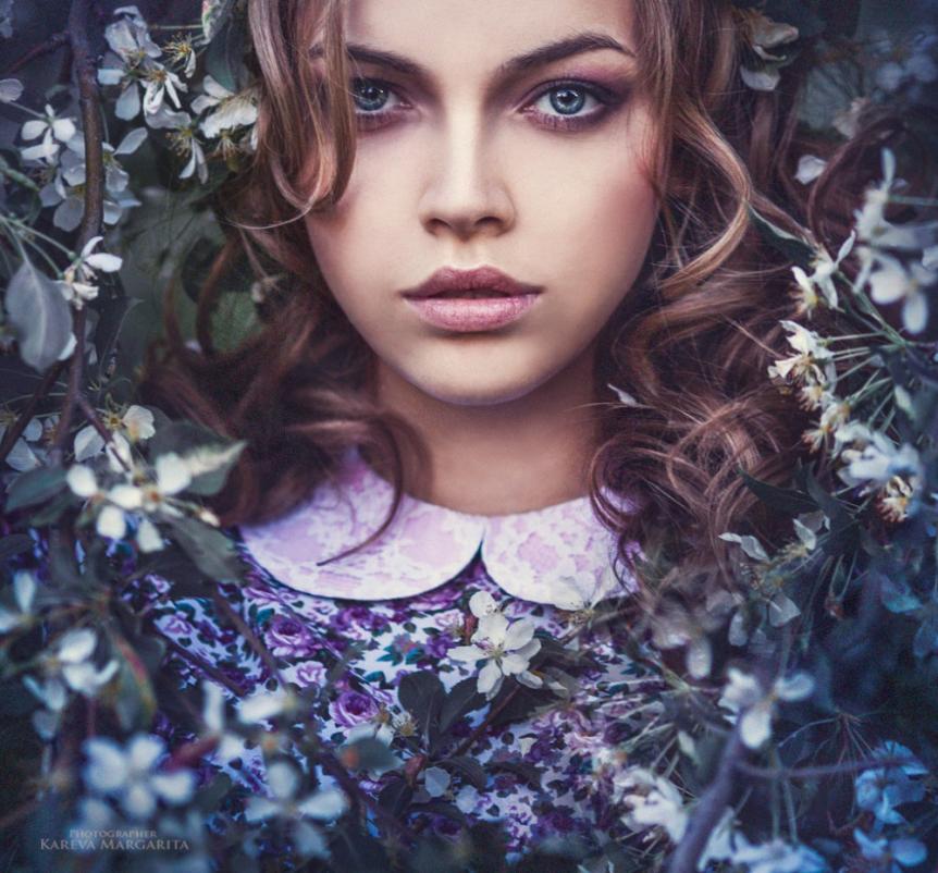 фото образ девушки