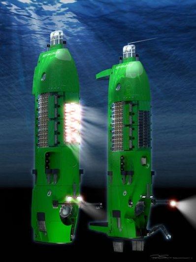 3-D модели батискафа