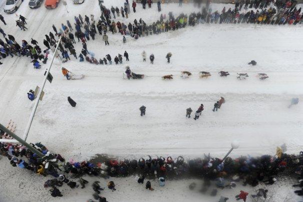 """Соревнования """"Айдитарод 2012"""" начались!"""
