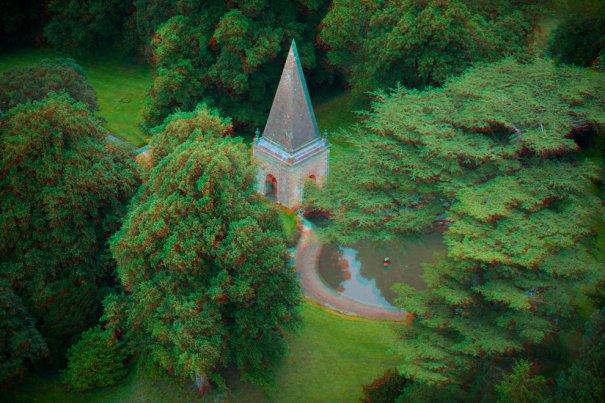Домик Стэнуэй с очаровательным садом и фонтанами