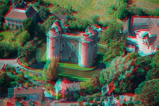 Замок Нанни, построенный в 14 веке в городе Нанни,графст