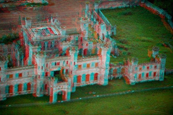 Замок Лоутер в графстве Камбрия