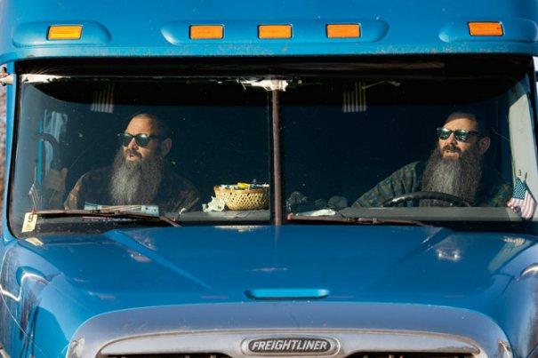 Дальнобойщики Дон и Дэйв(фото:Jodi Cobb)