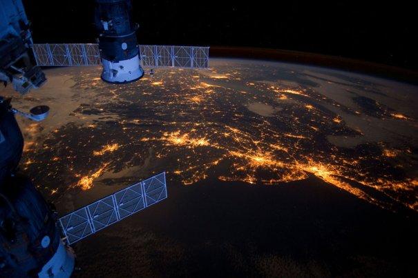 Атлантическое побережье, США, февраль 2012 года