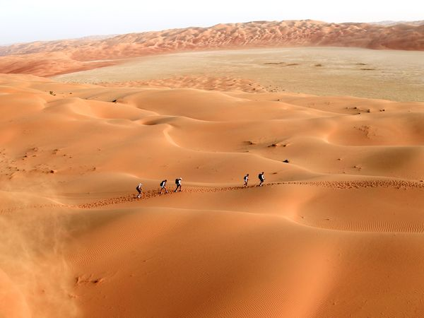 Пустыня в Абу-Даби, фото: Monica Dalmasso