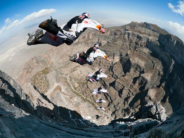 """Команда """"воздушных"""" прыжков, штат Юта, фото:Michael Clark"""