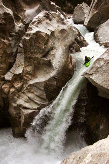 Верхний Каньон реки в Непале, фото:Tim Ripper