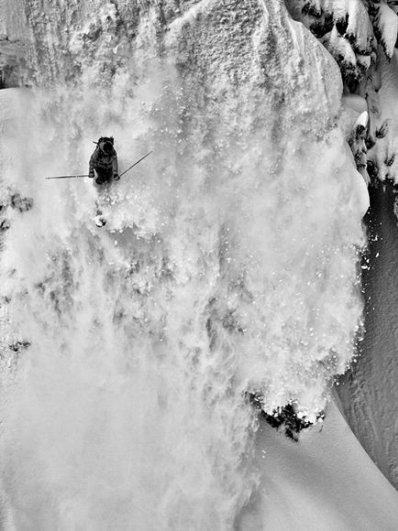 Снежная лавина, фото:Grant Gunderson