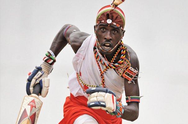 игрок команды войнов Масаай, фото:Carl De Souza