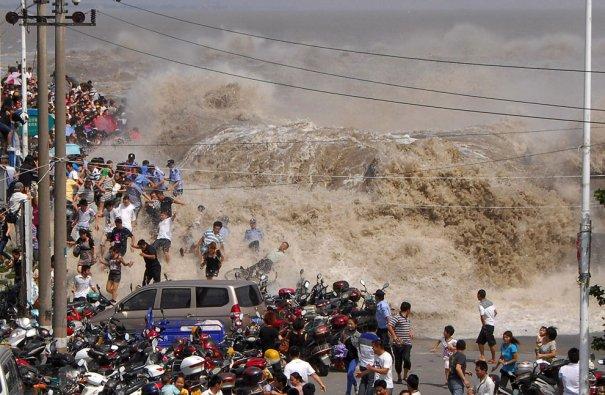 прилив реки Кьянтэнг
