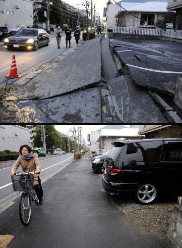Цунами в Японии: пострадавшие районы. - №4