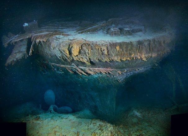 корма Титаника
