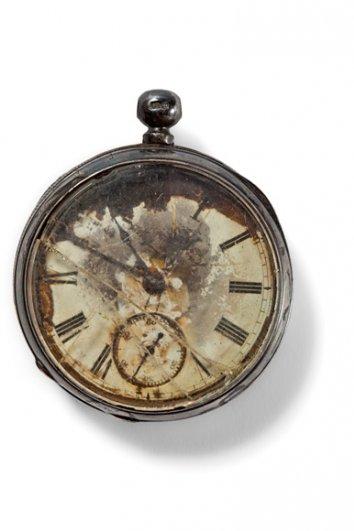 Серебрянные карманные часы