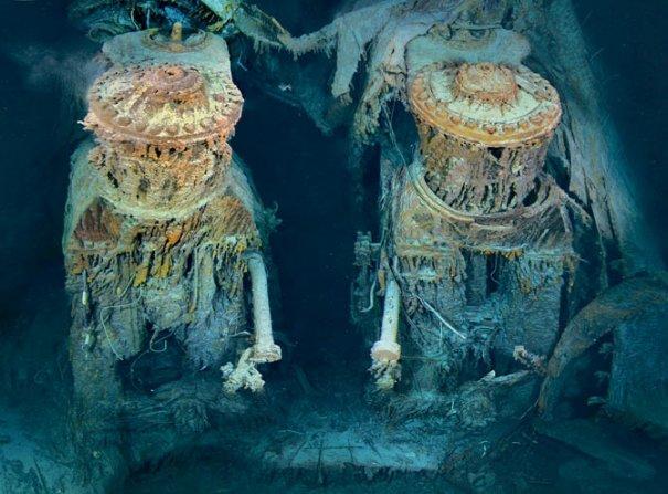 Двигатели Титаника. Они работали до последнего..