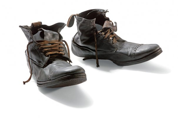 Кожаные ботинки Генри Уильяма Алена, прислуга. Люди из отсека третьего класса погибли все..