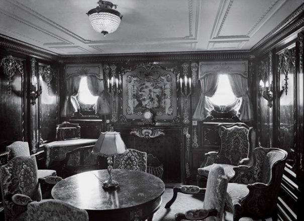Каюта-люкс на Титанике, 1912 год