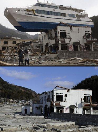Цунами в Японии: пострадавшие районы. - №6