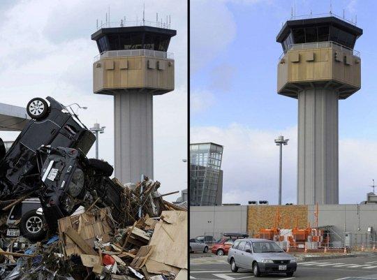 Цунами в Японии: пострадавшие районы. - №10