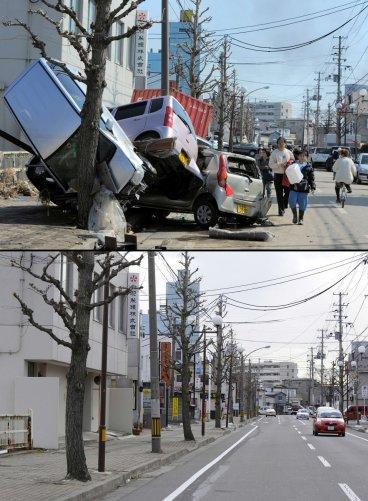 Цунами в Японии: пострадавшие районы. - №15