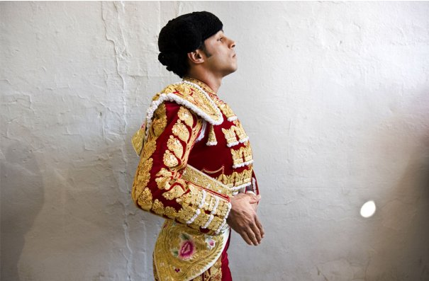 Луис Болевар, колумбийский матадор, фото:Daniel Ochoa de Olza