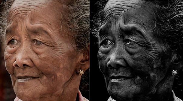 СОВЕТЫ: Как обрабатывать черно-белую фотографию! - №1