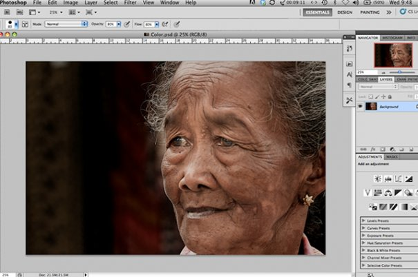 СОВЕТЫ: Как обрабатывать черно-белую фотографию! - №2