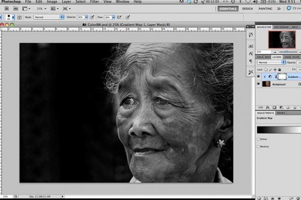 СОВЕТЫ: Как обрабатывать черно-белую фотографию! - №3