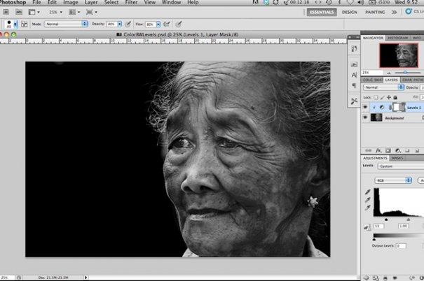 СОВЕТЫ: Как обрабатывать черно-белую фотографию! - №4