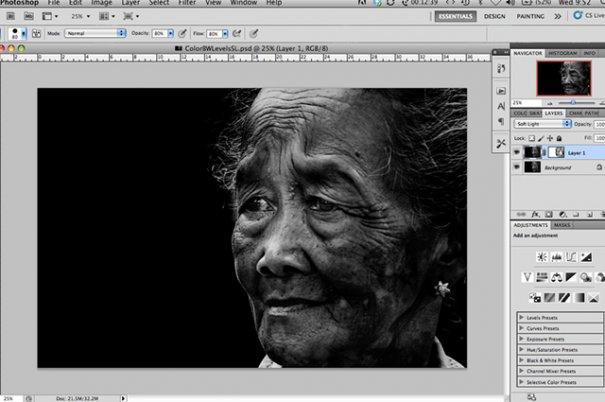СОВЕТЫ: Как обрабатывать черно-белую фотографию! - №5