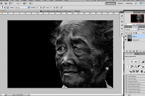 СОВЕТЫ: Как обрабатывать черно-белую фотографию! - №6