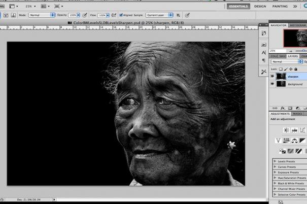 СОВЕТЫ: Как обрабатывать черно-белую фотографию! - №7