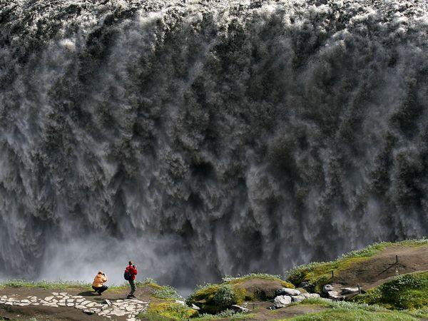 Исландия, водопад, фото:Ellert Gretarsson
